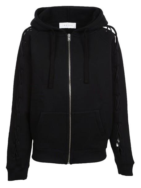 Iro hoodie black sweater