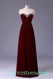 dress,burgundy,maroon prom dress,prom dress,long prom dress,red prom dress,red dress,red