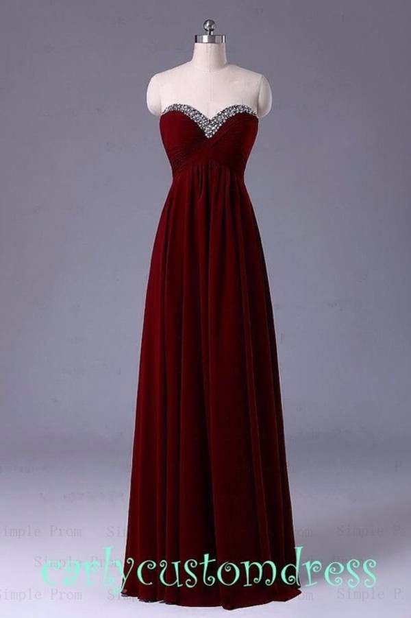 Maroon Prom Dress - Shop for Maroon Prom Dress on Wheretoget
