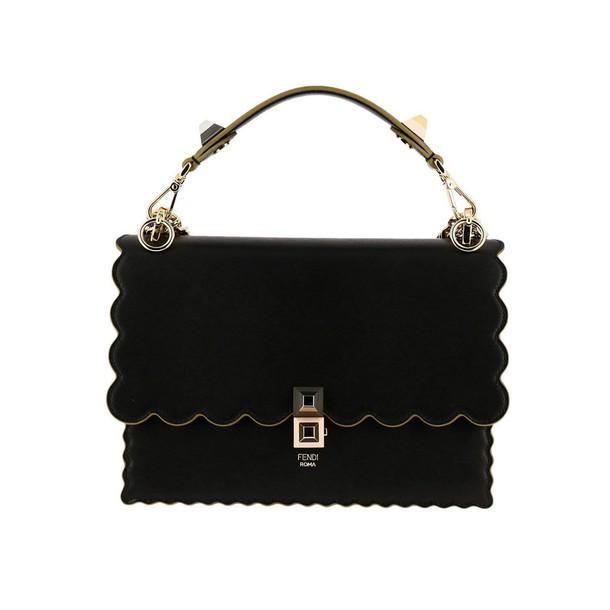 Fendi women bag handbag shoulder bag black