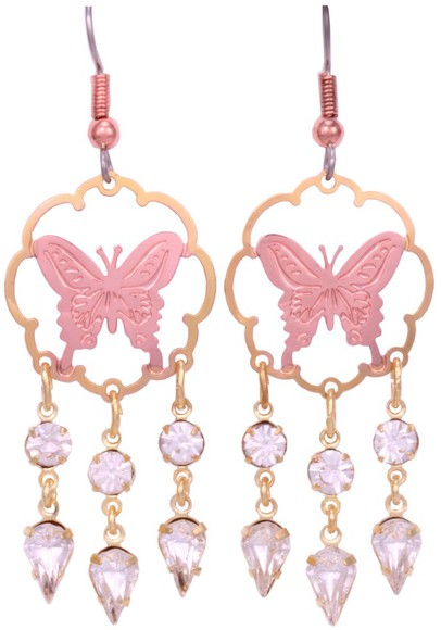 butterfly jewels earing accessories accessory jewelries