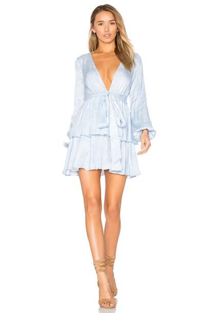 MAJORELLE dress blue