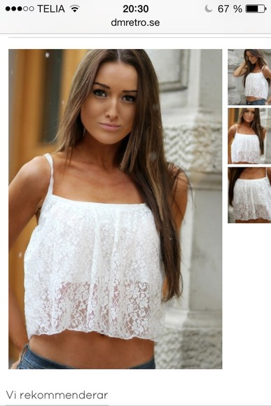 blouse white lace