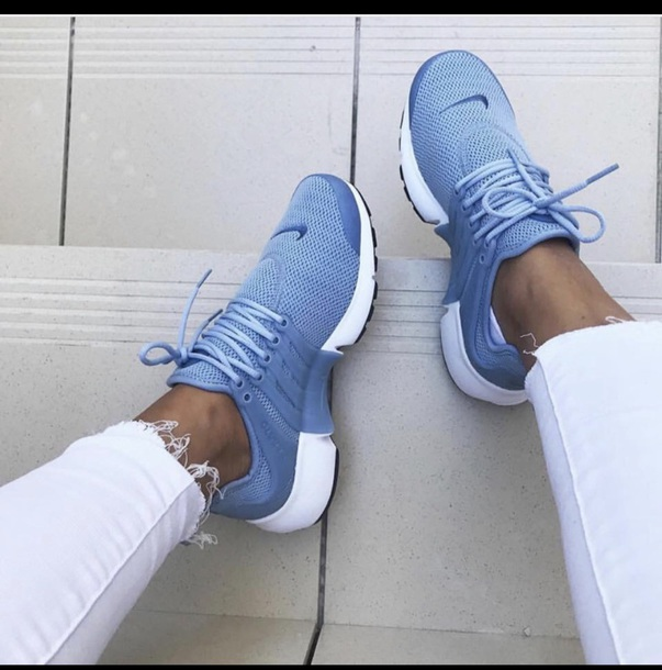 shoes blue nike shoes nike nike running shoes nike air nike sneakers nike air presto