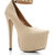 GJ | Mile High Club Heels $35.20 in BLACK NUDE - Ankle Straps | GoJane.com