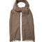 Fine-knit cashmere and silk-blend scarf