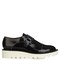 Odette faux-leather monk-strap shoes