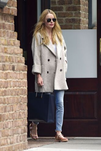 fall outfits coat kate bosworth bag