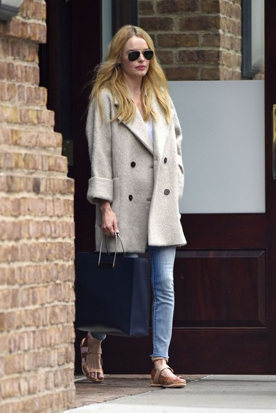 kate bosworth coat fall outfits bag