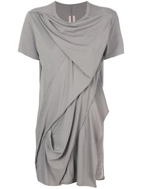 Rick Owens DRKSHDW t-shirt shirt t-shirt women cotton grey top
