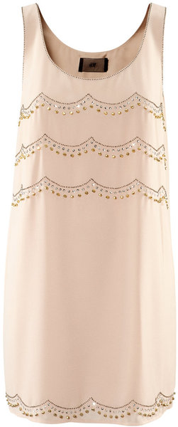 H&m dress in beige (powder)