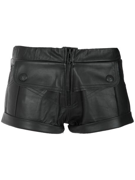 Andrea Bogosian shorts short shorts short women leather black