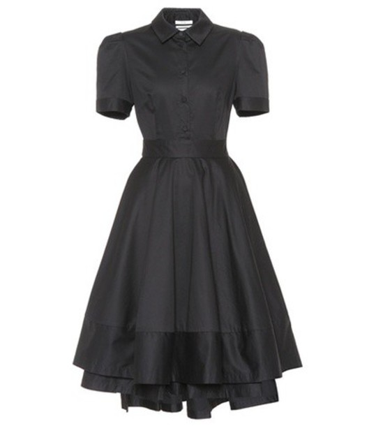 CO dress shirt dress black