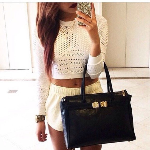 blouse crop tops crop top sweater summer top sweater top