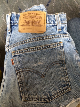 shorts denim vintage levis
