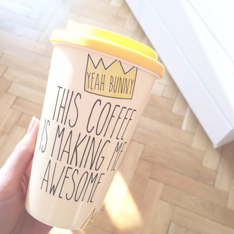 home accessory yeah bunny crown coffee tumbler queen royal starbucks coffee