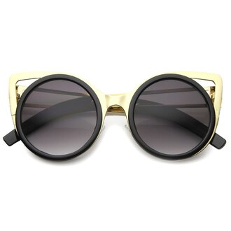 sunglasses cat eye black matte matte black black sunglasses matte black sunglasses gold gold sunglasses black and gold black and gold sunglasses