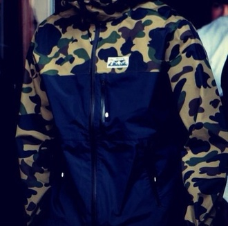 camouflage jacket chris brown chris brown