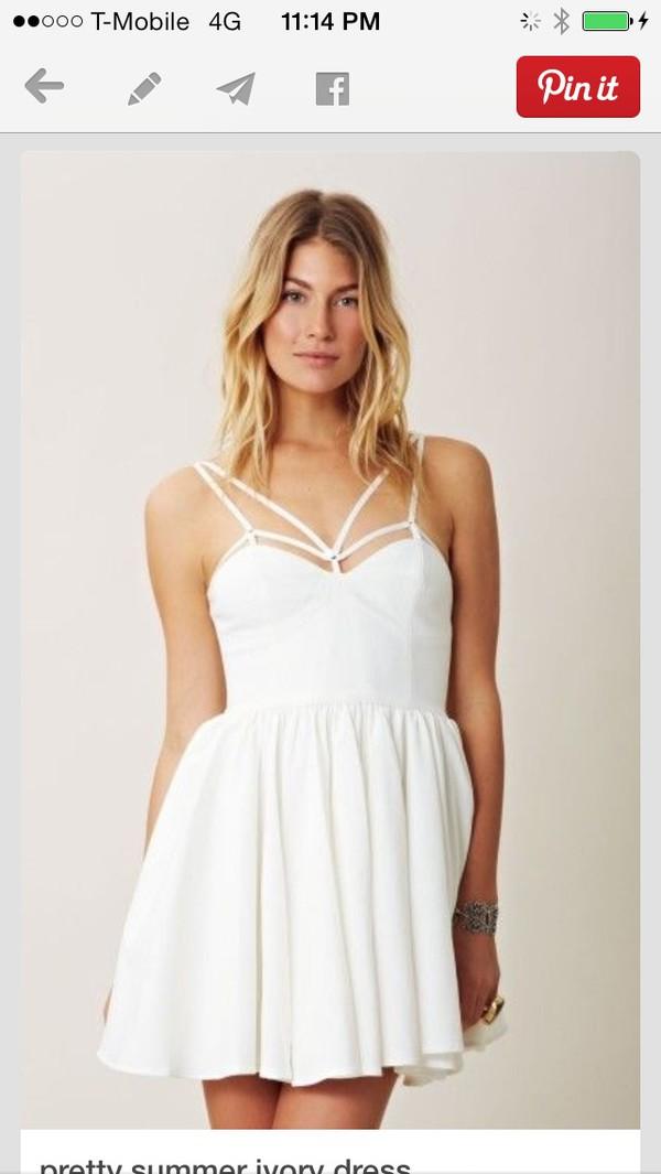 dress white straps