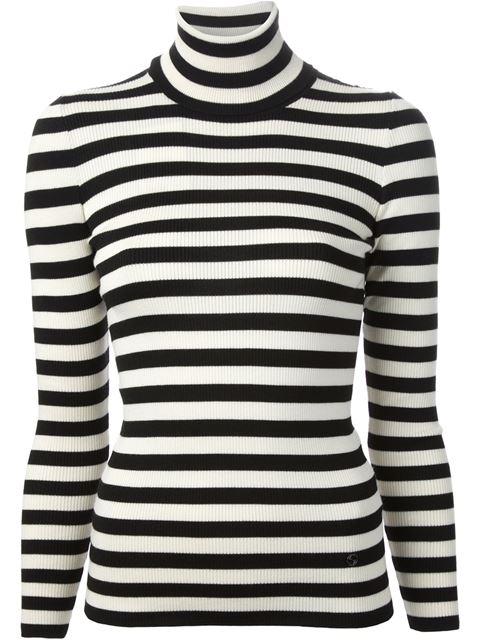 Gucci striped roll neck sweater