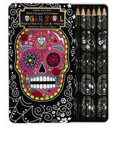 bag,pencils,skull,boho,pencil case,grunge wishlist,grunge accessory