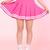 Glitters For Dinner — GFD PInk Cheerleading Skirt
