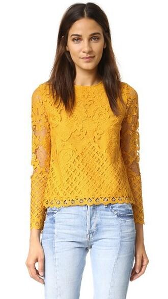blouse lace top