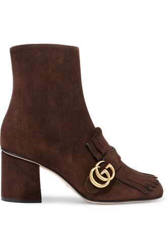 suede ankle boots boots ankle boots suede chocolate shoes