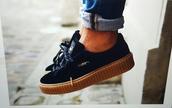 shoes,puma sneakers,puma,black  schoes,black