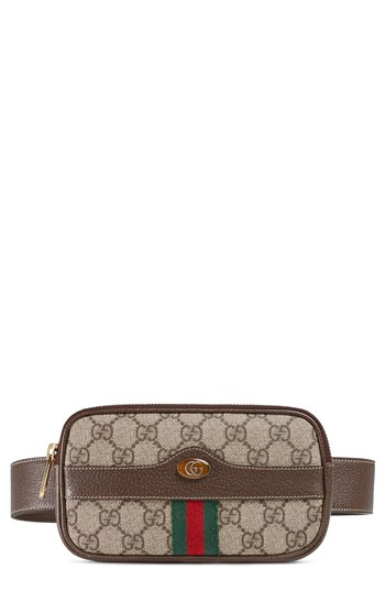 035361a8494 Gucci Ophidia GG Supreme Small Canvas Belt Bag