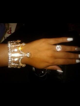 jewels crown queen princess diamonds bracelets