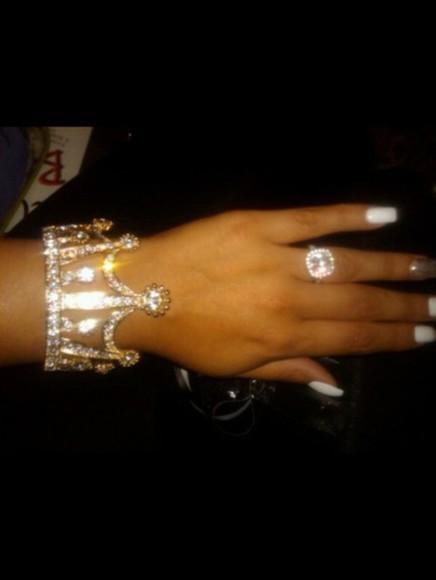 jewels queen crown princess diamonds bracelets