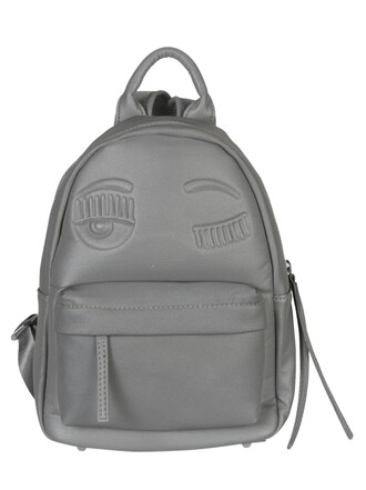backpack silver bag