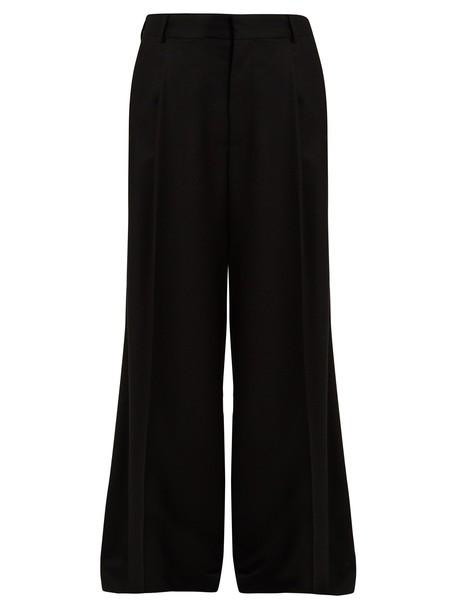Raey wool black pants
