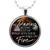 Be Daring Inspirational Quote Necklace