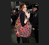 bag,oversized,bohemian,aztec,miley cyrus,pink,silver,polka dots,boho,tote bag