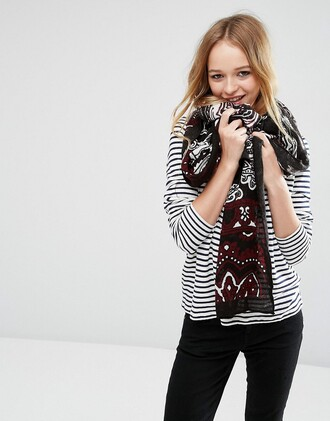 scarf paisley fall scarves accessories fall outfits