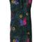 Diesel - floral print dress - women - rayon - m, grey, rayon