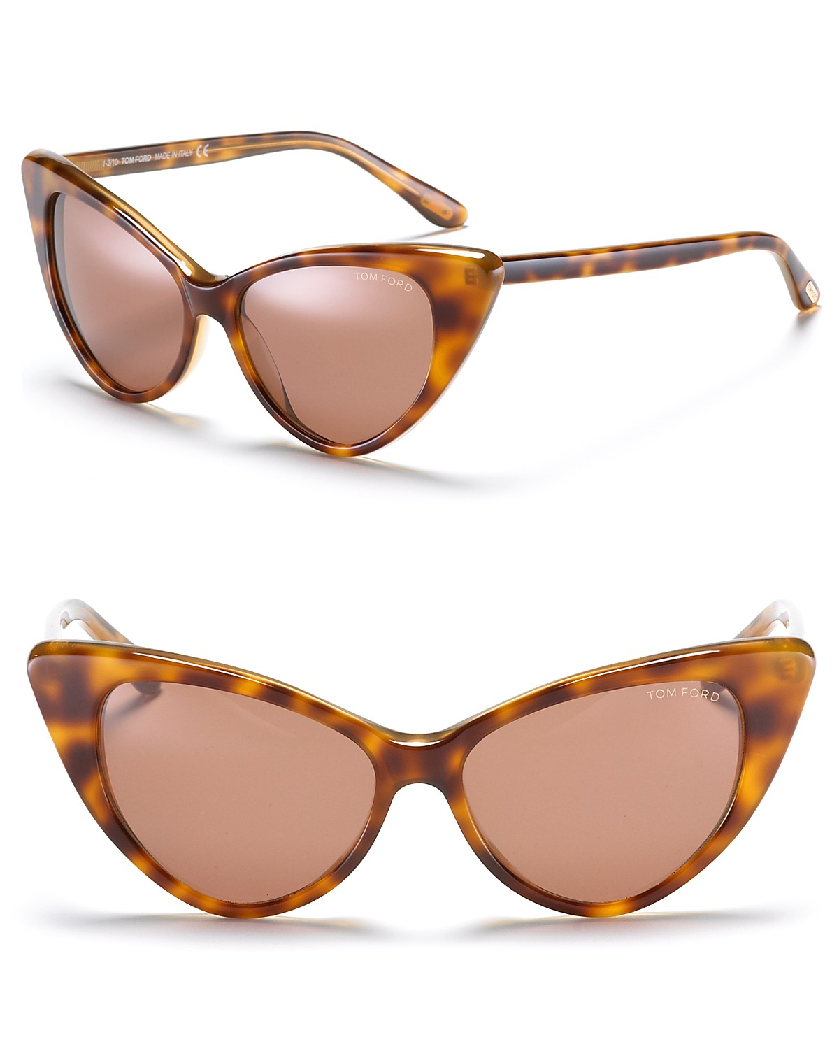 "Tom Ford ""Nikita"" Cat Eye Sunglasses 