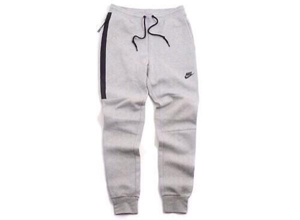 pants nike grey sweatpants sweatpants zip grey sportswear waist tie comfy