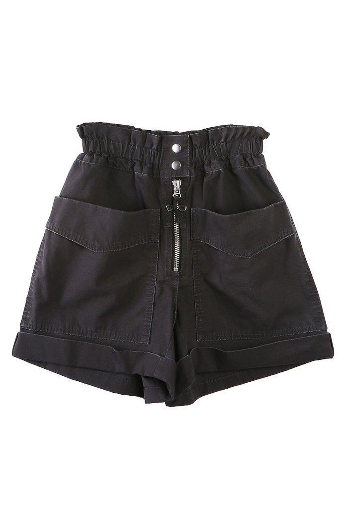 Lizy High Waisted Short Black
