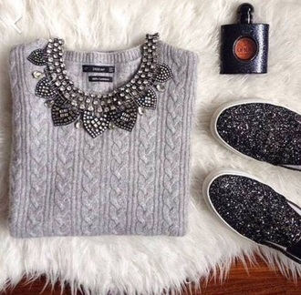 shoes knitwear necklace zara glitter shoes