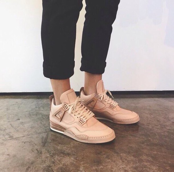 Rose Colored Tennis Shoes