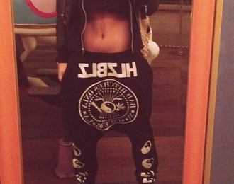 pants sweatpants style streetwear streetstyle all black everything dope