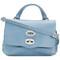 Zanellato - baby original tote - women - leather - one size, blue, leather