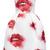 Strapless Printed Duchess Satin Dress by MSGM - Moda Operandi