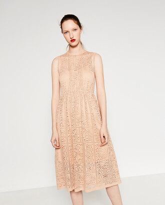 dress nude nude dress lace dress