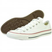 Chuck Taylor White Lace Up Unisex OX Pumps | Converse pumps | Converse ox pumps