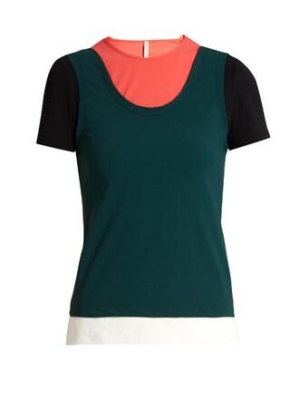 t-shirt shirt green top