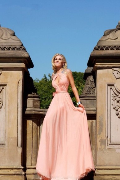 dress sparkle dress long prom dresses pink prom dress